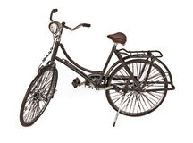Objeto retro da bicicleta Foto de Stock