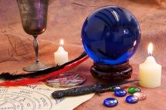 Objetos 1 de la brujería foto de archivo libre de regalías