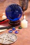 Objetos 4 de la brujería Fotografía de archivo