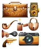 objetos Imagem de Stock