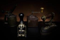 Objetos antigos de Fotografia de Stock Royalty Free
