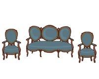Objetos barrocos do vetor Foto de Stock Royalty Free