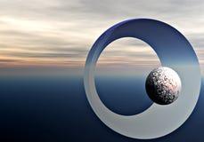 Objetos cósmicos Imágenes de archivo libres de regalías