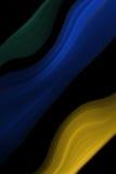 Objetos coloreados extracto Fotografía de archivo