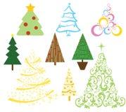 Objetos da casa do Natal ilustração royalty free