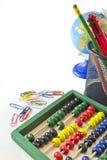 Objetos da escola Imagens de Stock