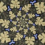 Objetos dados forma estranhos na formação circular Imagem de Stock Royalty Free