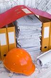 Objetos de la construcción Imágenes de archivo libres de regalías