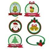 Objetos de la Navidad Imagen de archivo libre de regalías