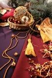 Objetos de Navidad Foto de archivo libre de regalías