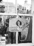 Objetos de recuerdo pasados de moda en el ferrocarril de Gloucester y de Warwickshire Imagenes de archivo