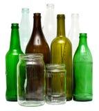 Objetos de vidro Imagens de Stock Royalty Free
