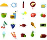 Objetos del alimento y de la cocina Fotos de archivo