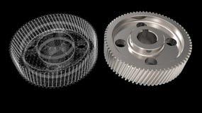 objetos del diseño 3D Foto de archivo libre de regalías