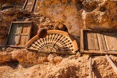 Objetos diários autênticos, Egito Imagens de Stock