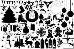 Objetos do Natal Fotografia de Stock