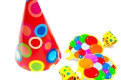 Objetos do partido Imagem de Stock Royalty Free