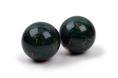 Objetos - esferas de Boading imagem de stock