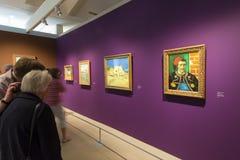 Objetos expuestos de Vincent Van Gogh Foundation Arles Foto de archivo