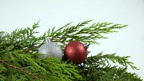 Objetos festivos da estação do Natal fotografia de stock