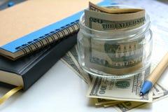 Objetos financieros Foto de archivo