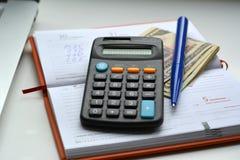 Objetos financieros Imagen de archivo libre de regalías