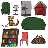 Objetos interiores libre illustration