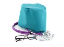 Objetos médicos isolados Imagem de Stock Royalty Free