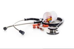 Objetos médicos Imagenes de archivo