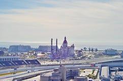 Objetos olímpicos de Sochi Foto de archivo