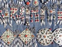 Objetos orientais do bazar - jóia Fotografia de Stock