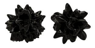 Objetos oscuros del extracto 3D Imágenes de archivo libres de regalías