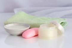 Objetos para a higiene Fotos de Stock Royalty Free