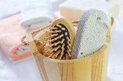 Objetos para a higiene Imagens de Stock Royalty Free