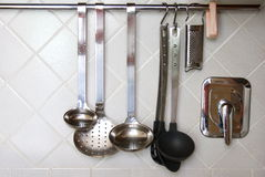 Objetos para la cocina Fotos de archivo