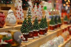 Objetos pequenos do Natal Imagens de Stock