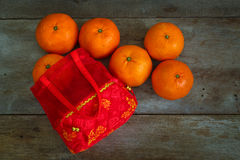 Objetos preparados por un Año Nuevo chino Imágenes de archivo libres de regalías