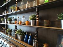 Objetos que podem ser feitos a uma boa decoração da casa fotos de stock royalty free