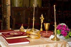 Objetos religiosos Imagen de archivo libre de regalías