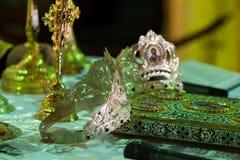 Objetos religiosos Fotos de Stock