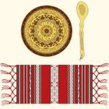 Objetos tradicionais romenos Fotografia de Stock Royalty Free