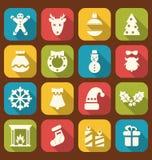 Objetos tradicionales de la Navidad y del Año Nuevo Fotografía de archivo