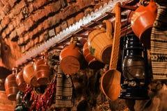Objetos tradicionales de Rumania Imágenes de archivo libres de regalías