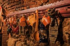 Objetos tradicionales de Rumania Foto de archivo libre de regalías