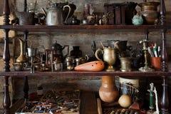 Objetos velhos bonitos Fotografia de Stock Royalty Free