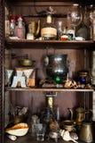 Objetos velhos bonitos Imagem de Stock Royalty Free