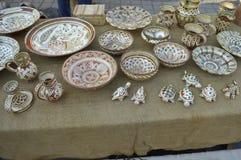 Objetos velhos decorativos Fotos de Stock Royalty Free