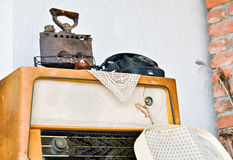 Objets anciens Photographie stock