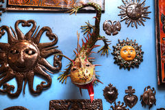 Objets décoratifs mexicains photo stock