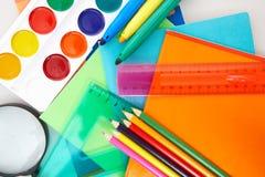 Objets d'éducation Image stock
